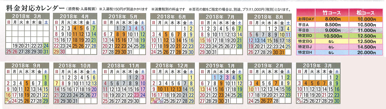 宴会プラン 竹コース