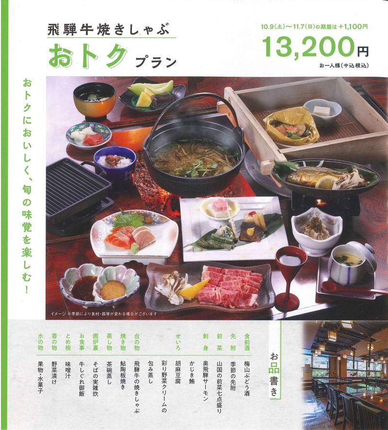 奥飛騨~春夏~よりどり緑の旅 スタンダード